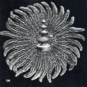 collage sur papier, Thaddée, 9,6 x 9,6 cm, Rambouillet, 2012