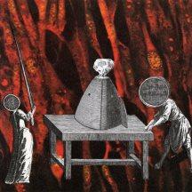 Thaddée, collage sur papier, 11,9 X 12,9 cm, collection particulière