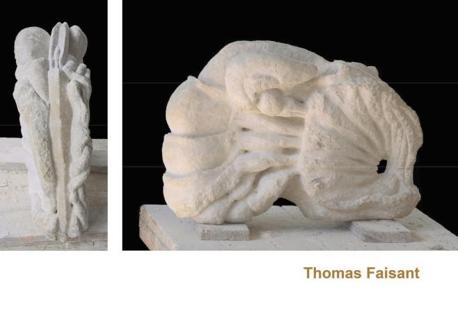 Thomas Faisant, Calcanimalys, taille directe sur calcaire